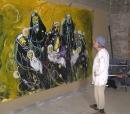 Óleo sobre lienzo 250 x 350 cm 1999