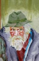 Óleo sobre lienzo 73 x 60 cm 1973