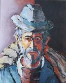 Óleo sobre lienzo  73 x 60 cm 1981