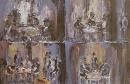 Óleo sobre lienzo 40 x 60 cm 1978