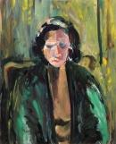 Óleo sobre lienzo 69 x 56 cm 1978