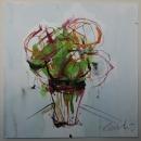 Óleo sobre lienzo 100 x 100 cm 2011