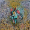 Óleo sobre lienzo 155 x 155 cm 2011
