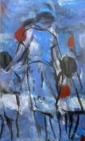 Óleo sobre lienzo 146 x 89 cm 1997