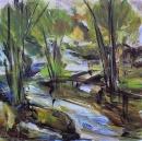 Óleo sobre lienzo 100 x 100 cm 2002