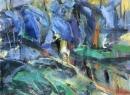 Óleo sobre lienzo 100 x 130 cm 2002