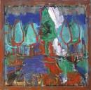 Óleo sobre lienzo 105 x 105 cm 1990