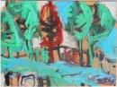 Óleo sobre lienzo  122 x 150 cm   1990