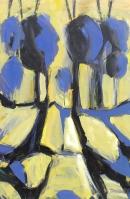 Óleo sobre lienzo  122 x 50 cm 1982