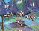 Óleo sobre lienzo 130 x 162 cm 1990