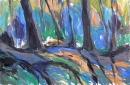 Óleo sobre lienzo 130 x 195 cm 2002