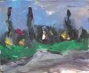 Óleo sobre lienzo 81 x 100 cm 1990