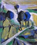 Óleo sobre lienzo 98 x 82 cm  2002