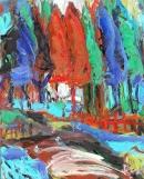 Óleo sobre tabla  100 x 80 cm 1990