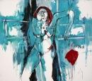 Óleo sobre lienzo 146 x 166 cm 1998