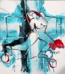 Óleo sobre lienzo 166 x 146 cm 1998