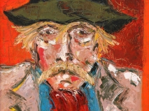 Óleo sobre lienzo 73 x 60 cm 1972
