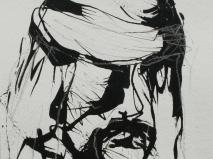 Tinta-carbón 24 x 18 cm 2005-2006